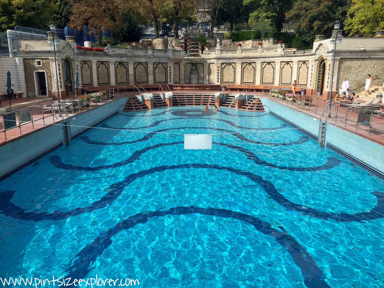 Taking A Dip In The Gellert Baths - Pintsize Explorer